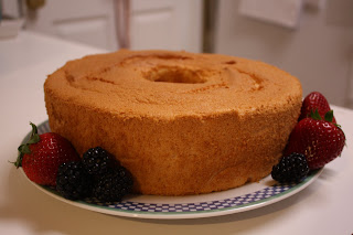 Grenadine Angel Food Cake