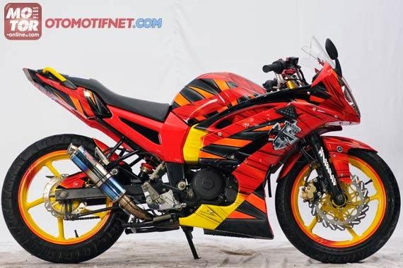 Modifikasi Yamaha Byson Full Fairing dan Half Fairing Terbaru