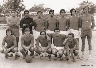 Veraneantes de Candelario futbol club Candelario Salamanca