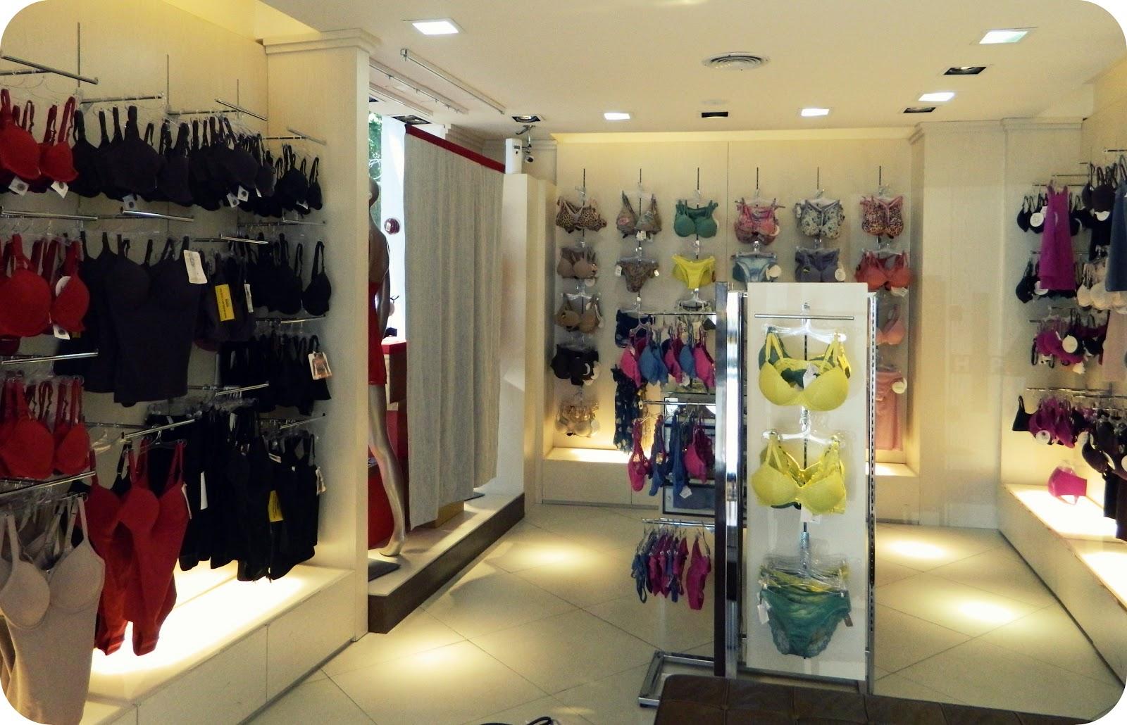 Desde el vestidor diciembre 2012 for Ideas para decorar un local de ropa interior
