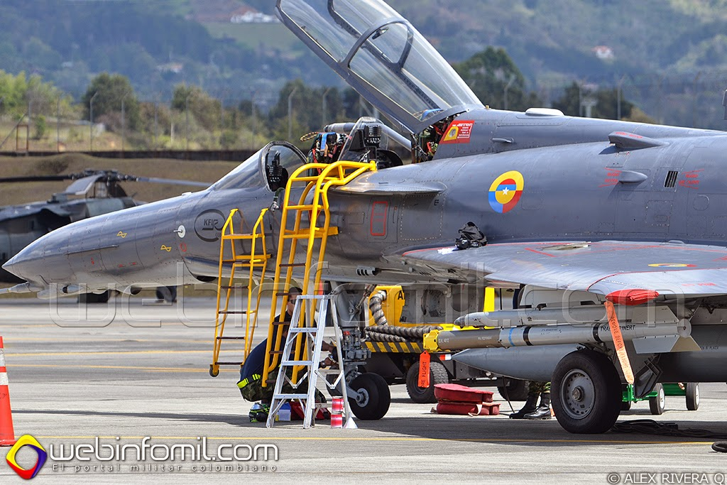 Kfir Fuerza aerea colombiana fac3007