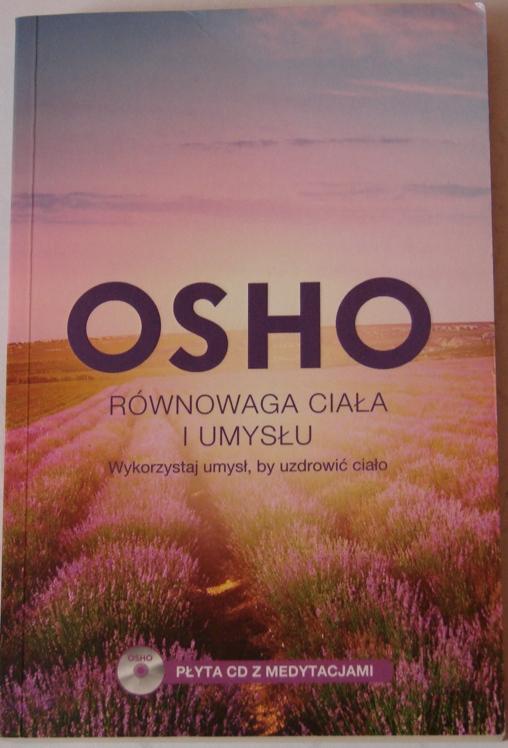 okładka Osho Równowaga ciała