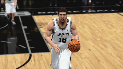 NBA 2K13 Spurs Aron Baynes Team NBA2K Update