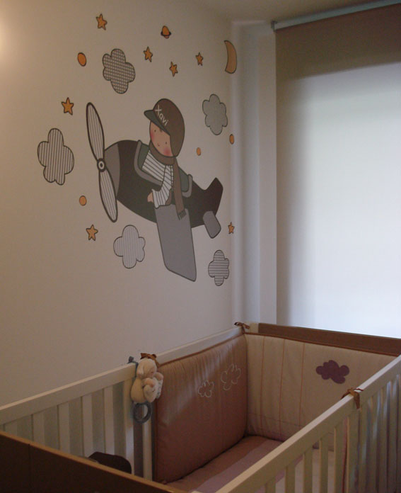 Vinilos infantiles personalizados decorar con vinilos for Vinilos infantiles bebe