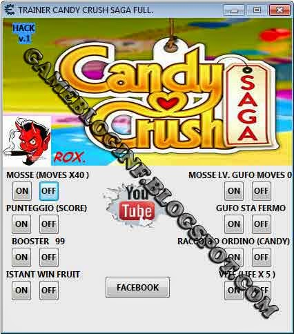 Candy Crush Saga Hack All In One Full Vesion
