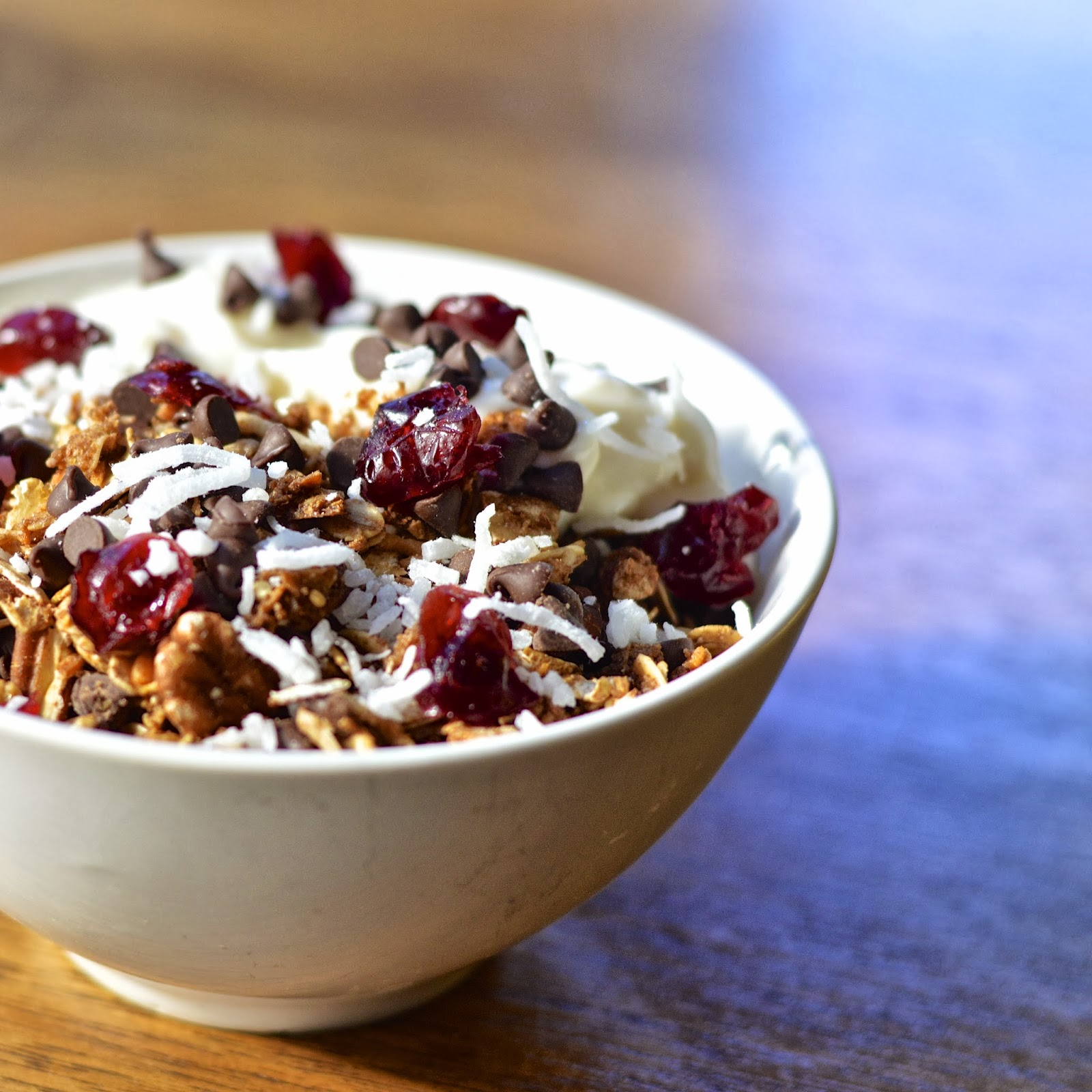 ... Yogurt Sundae | Virtually Homemade: Chocolate Cranberry Yogurt Sundae