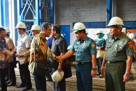 Ketua MPR RI Tinjau Pembangunan KRC 60 Buatan PT. PAL