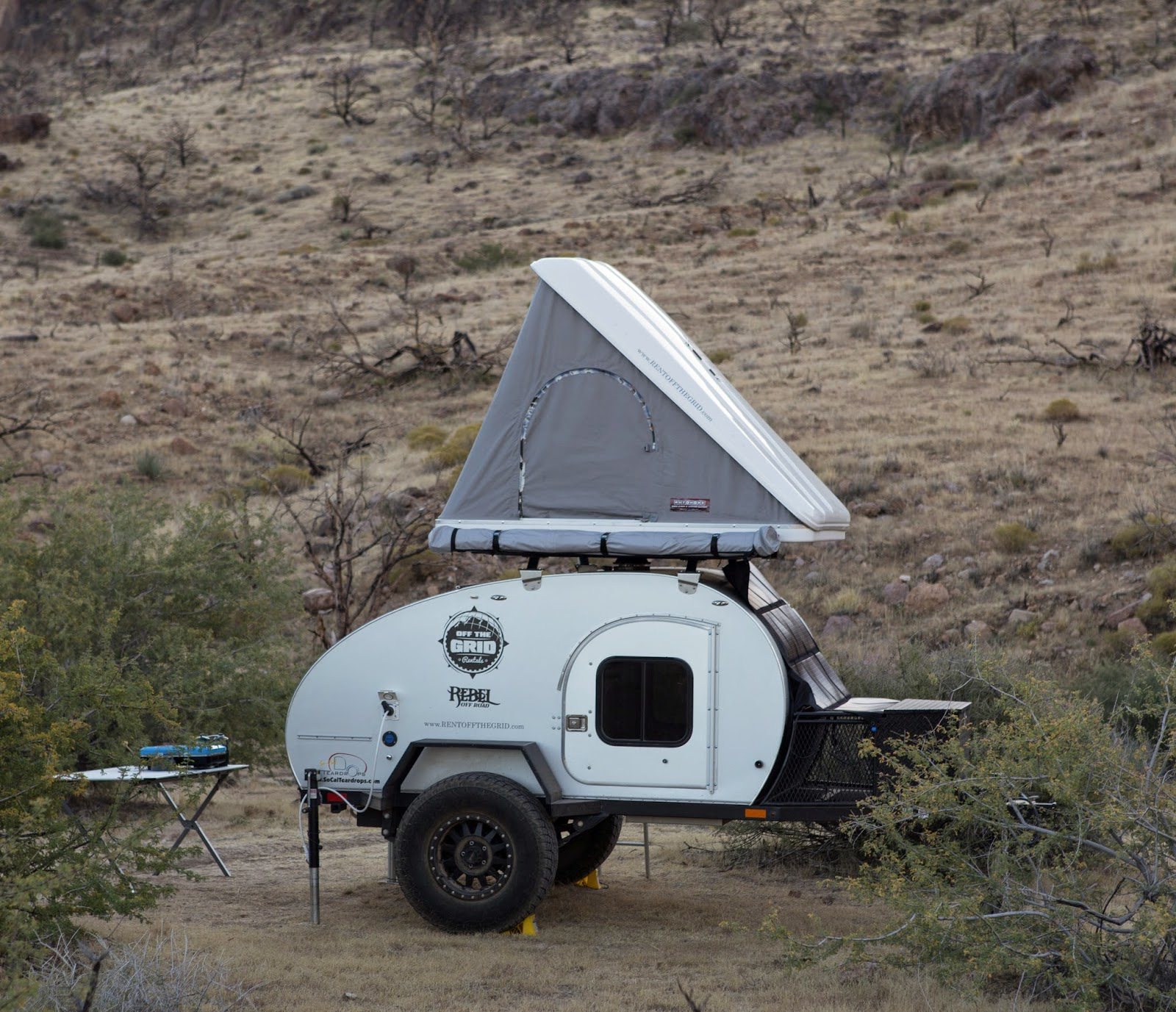 New Most Offroad  On A Desert Camping Trip He Ended Up Buying A Rugged Teardrop Trailer And A Few Tents, But Was Left Wanting A More Affordable Option So In April 2014, He Set Up His Rental Company In The Corner Of A Friends Offroad