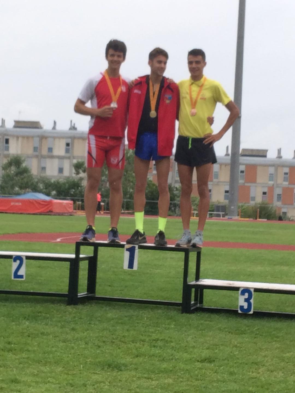 Subcampió de Catalunya Sub20 de 800 m.ll. 2018