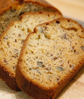 slow cooker banana nut bread