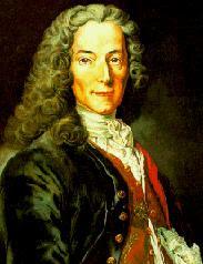 Voltaire, filósofo francés:
