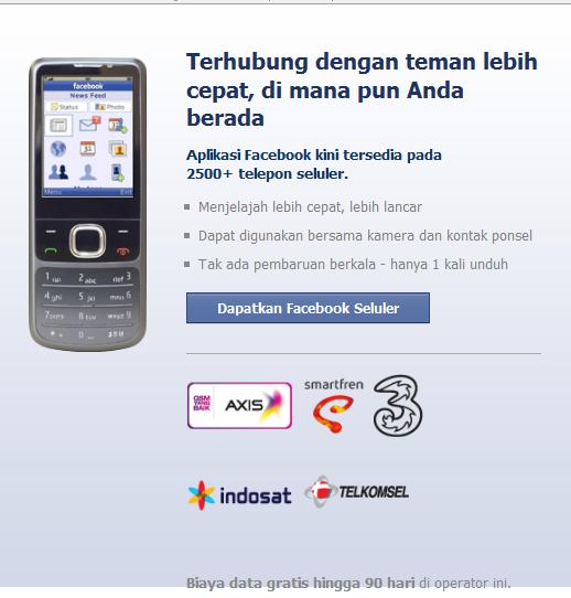 aplikasi Facebook Gratis
