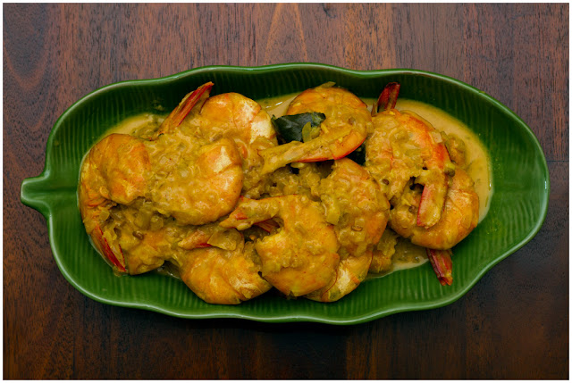 A photograph of Isso Curry (Prawn Curry)