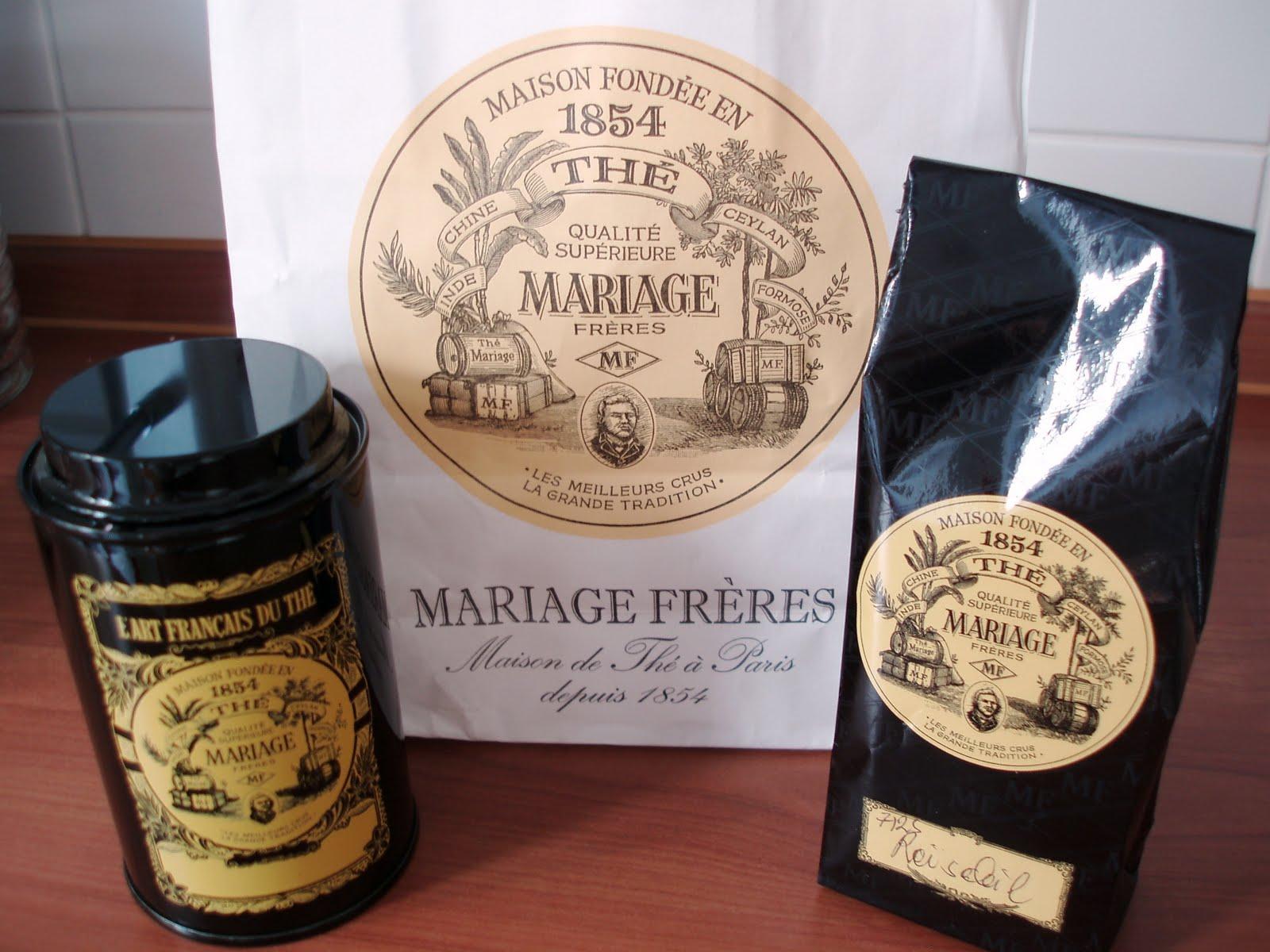 mariage freres marais paris tea tin - Mariages Freres