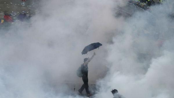 """香港""""雨伞革命""""图7"""