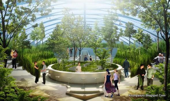Desain Taman Tematik