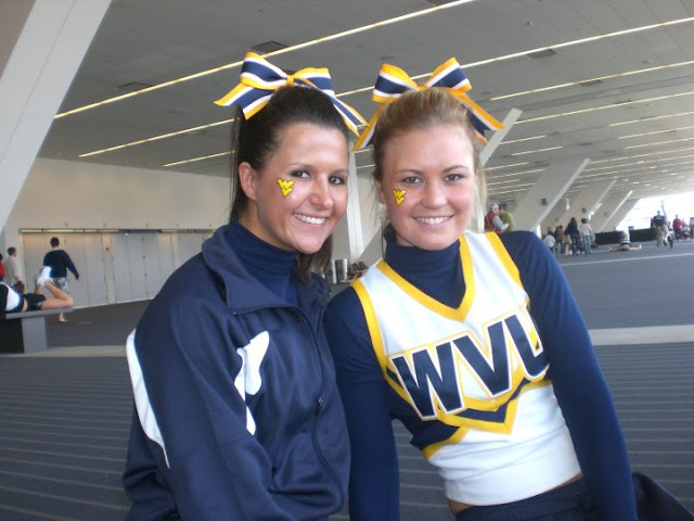 Wild West Virginia Cheerleaders