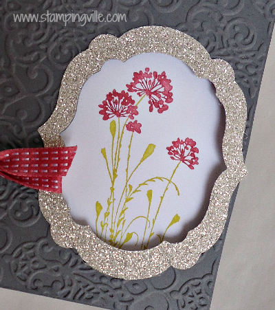Stampin' Up! Silver Glimmer Paper