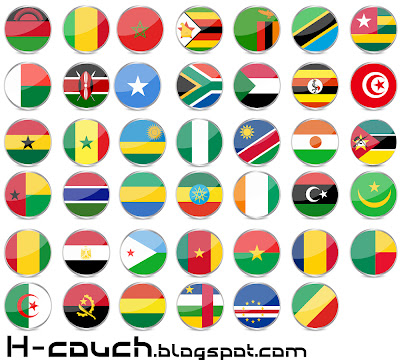 Download Countries Africa's Flags Free { Vector }