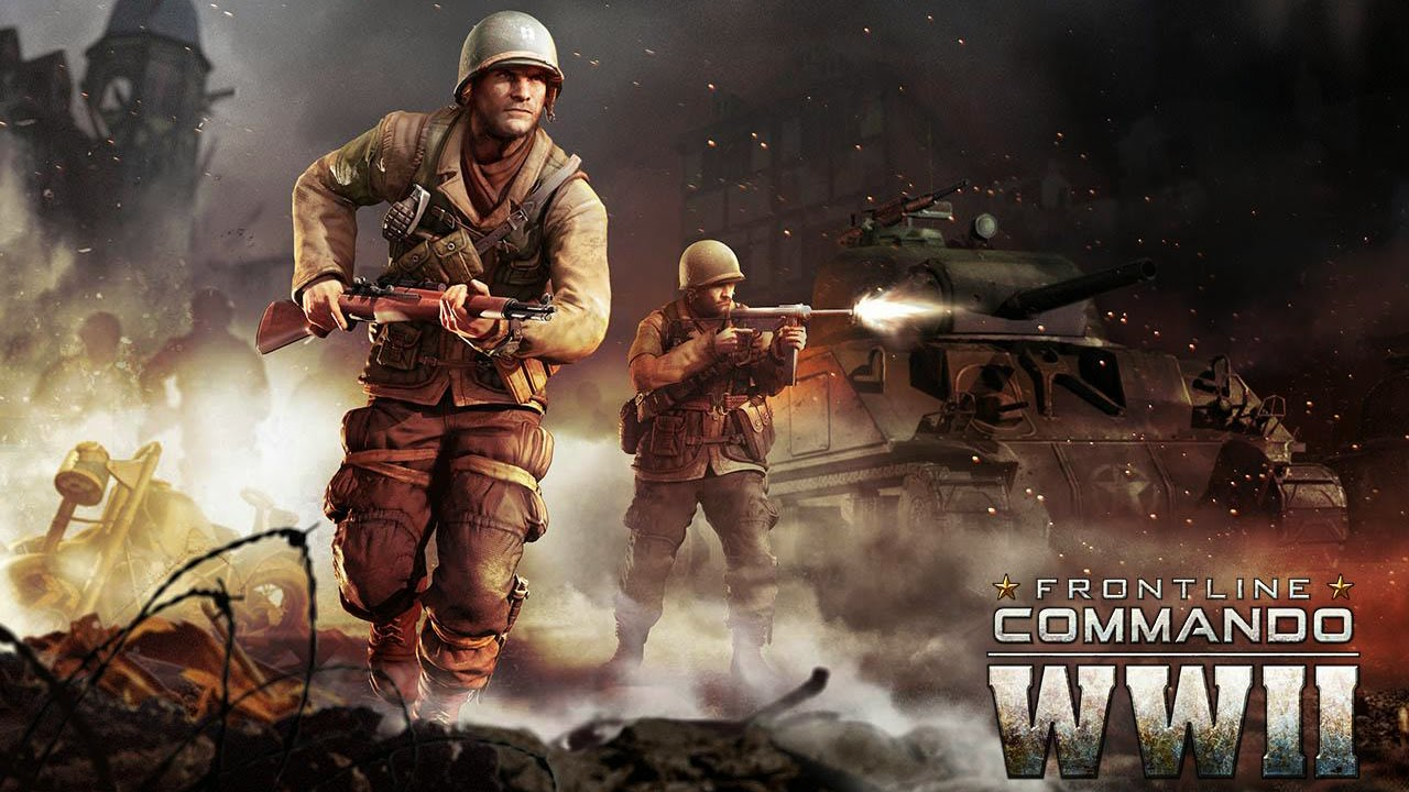 FRONTLINE COMMANDO: WW2 Gameplay IOS / Android