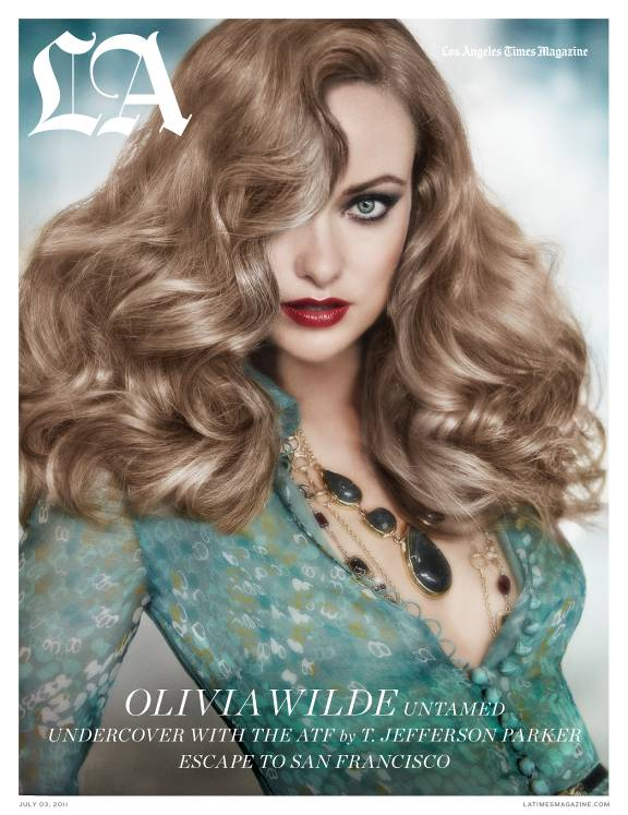 Olivia Wilde Hairstyles For L.A. Times Magazine July 2011 - 1