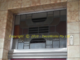 Leadlight window