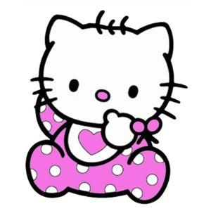 helo kitty chupandose el dedo