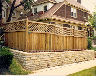 Деревянный забор. Фото 105