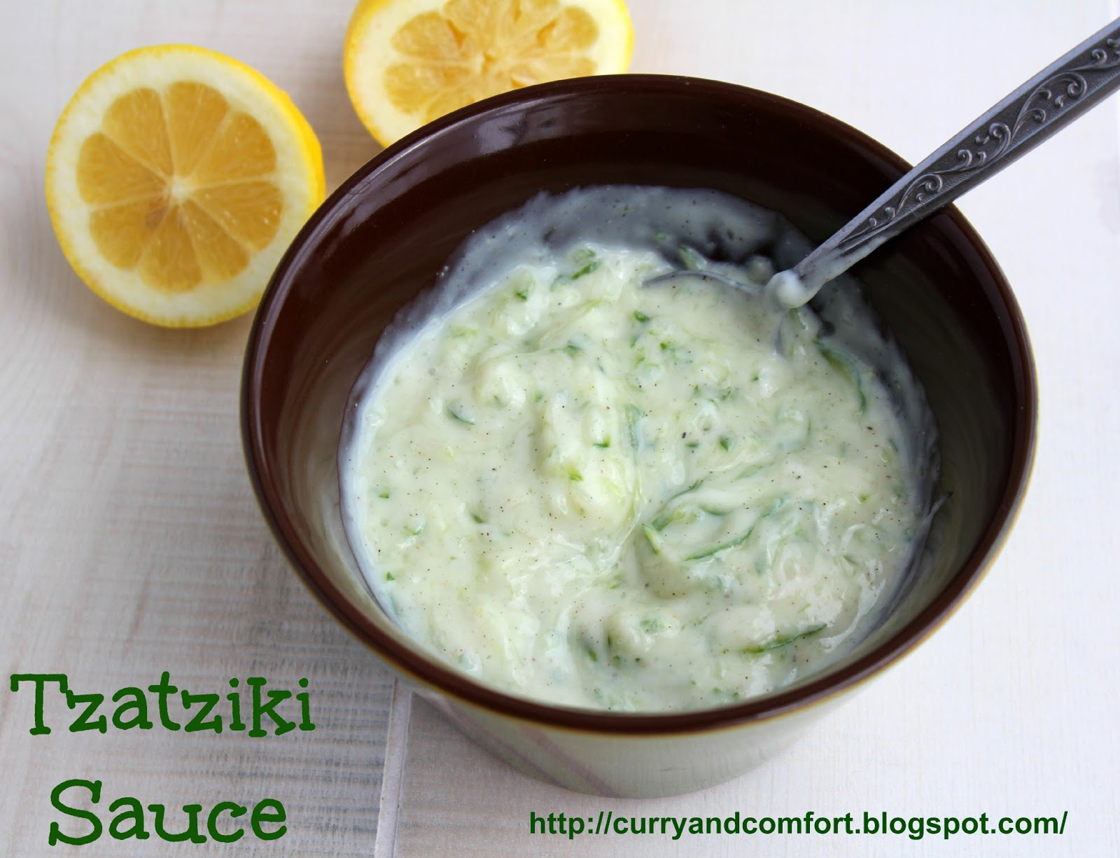 how to make tzatziki sauce without dill