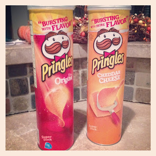 , Happy Veteran's Day with a Pringle Can