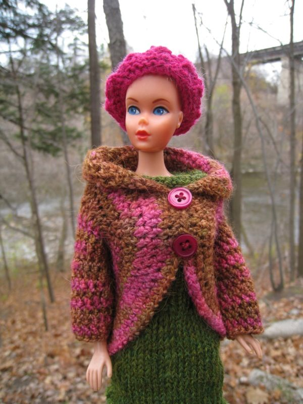 Best Barbie Knits: FREE Barbie Crochet Jacket Pattern
