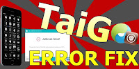 Fix TaiG Jailbreak error