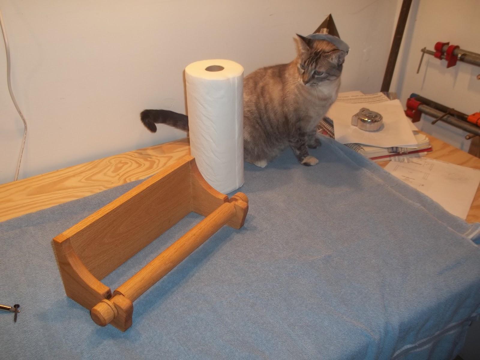 Elegant A Paper Towel Holder