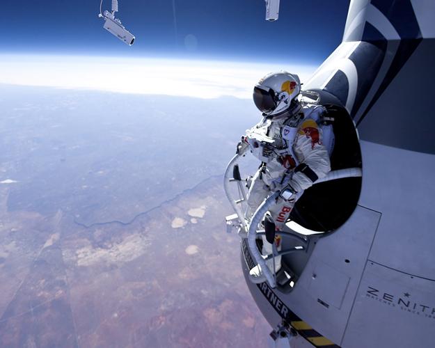 Felix Baumgartner salto
