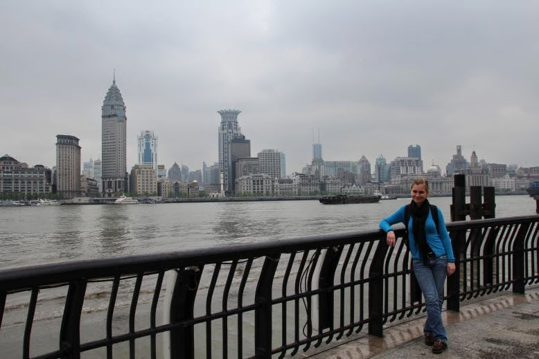 Skyline in Shanghai