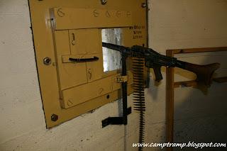 Wnętrze bunkra Regelbau 120A