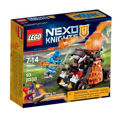 TOYS : JUGUETES - LEGO Nexo Knights  70311 Catapulta del Caos | Chaos Catapult  Producto Oficial 2015 - 2016 | Piezas: 93 | Edad: 7-14 años  Comprar en Amazon España & buy Amazon USA