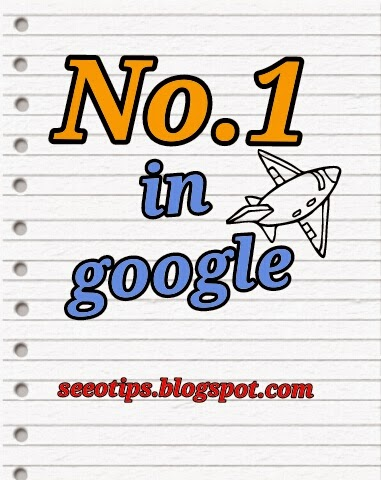 Cara menjadi no 1 di google