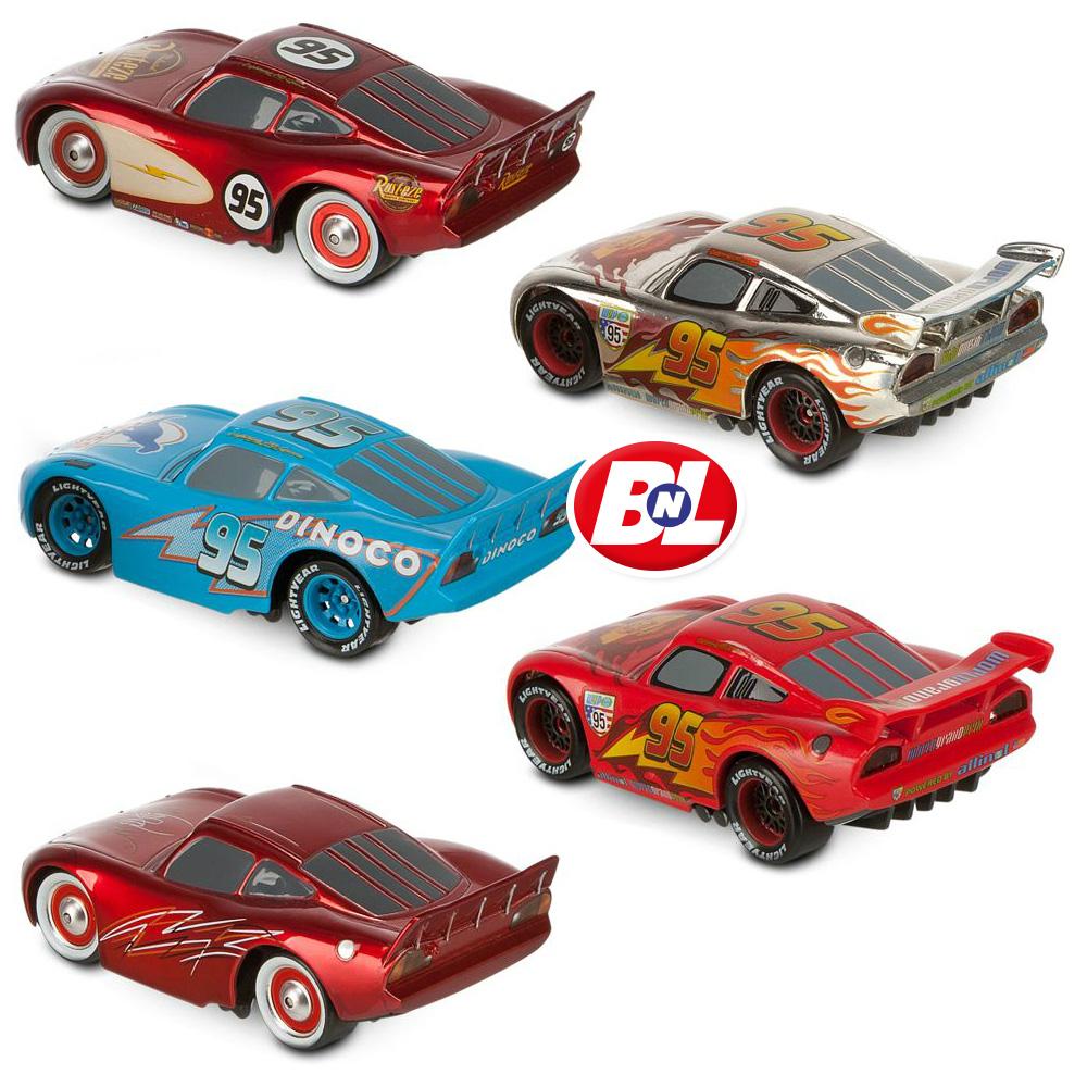 Cars 2 mcqueen o rama cars die cast set