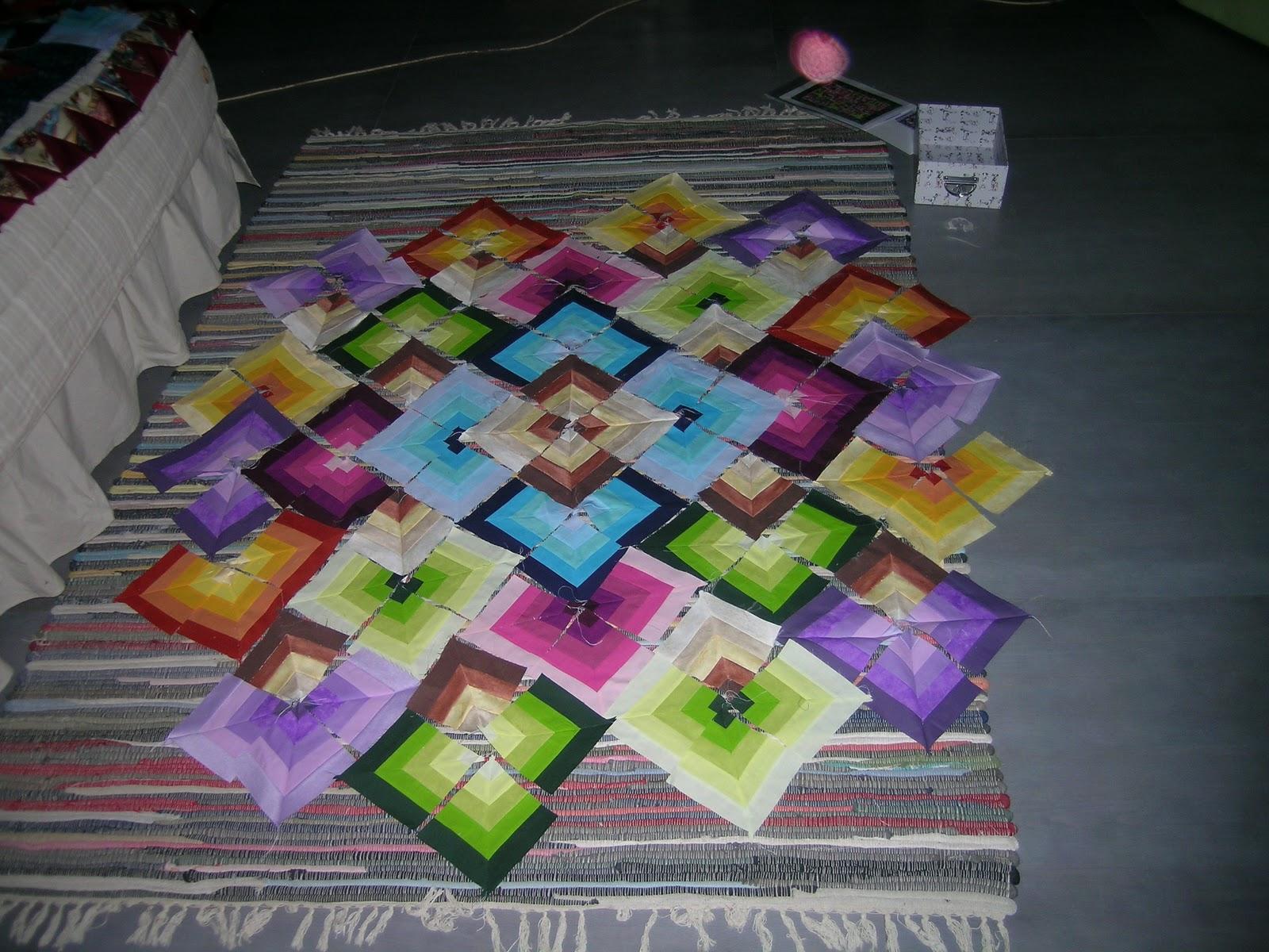 Labores artesanas arco iris de colores - Almazuelas patrones gratis ...
