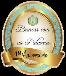 Selo 1º aniversário
