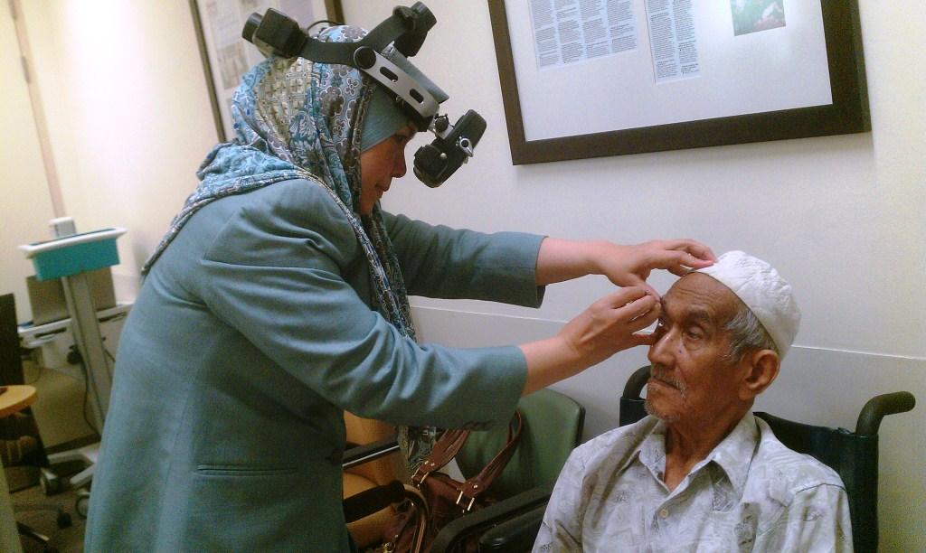 Sepanjang masa recovering dan berjumpa Prof Muhaya, anak ke-6, Mu'adz