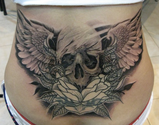 Lion city tattoo cover up elvin yong for Cover up tattoos ideas for lower back