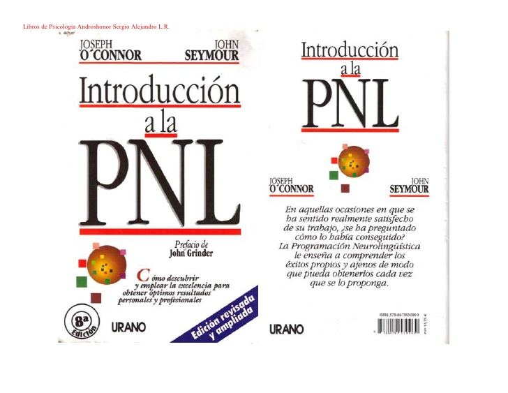 Introducci n a la pnl joseph o connor y john seymour for Introduccion a la gastronomia pdf