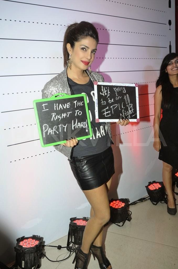 Priyanka Chopra launches Siddharth Chopra's 'The Mugshot Lounge' in Pune