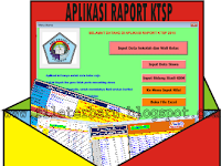 DOWNLOAD APLIKASI RAPORT KTSP TERBARU GRATIS (FREE)