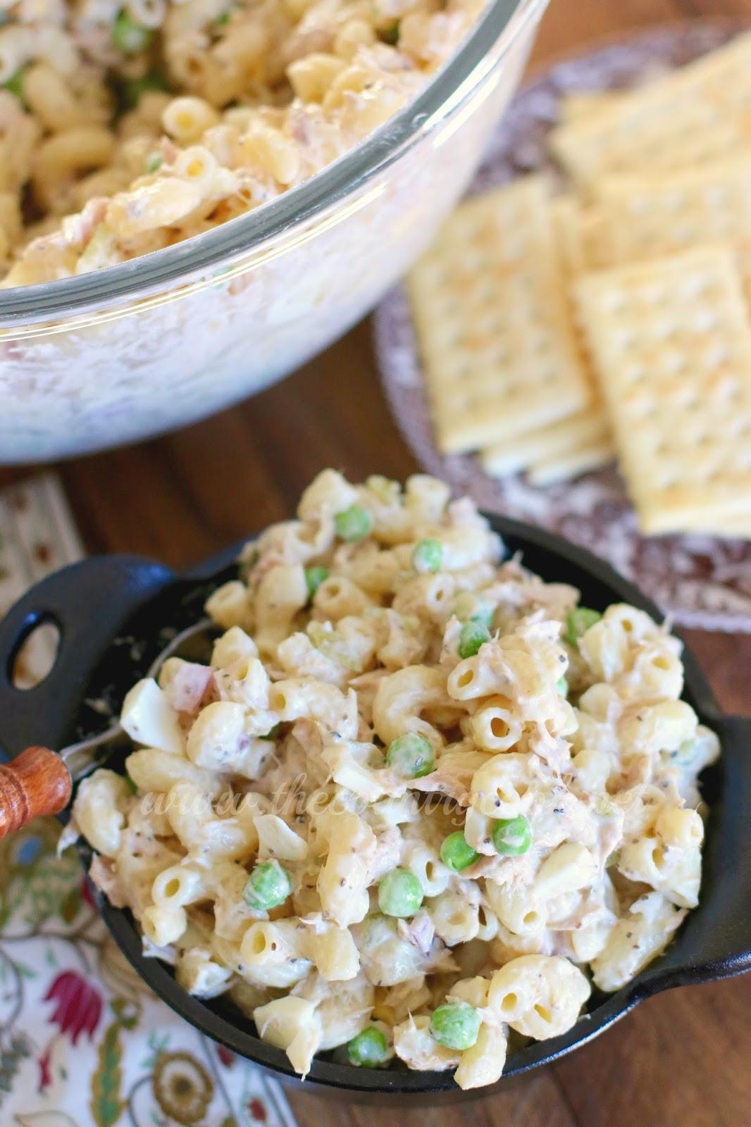 Tuna Macaroni Salad - The Country Cook