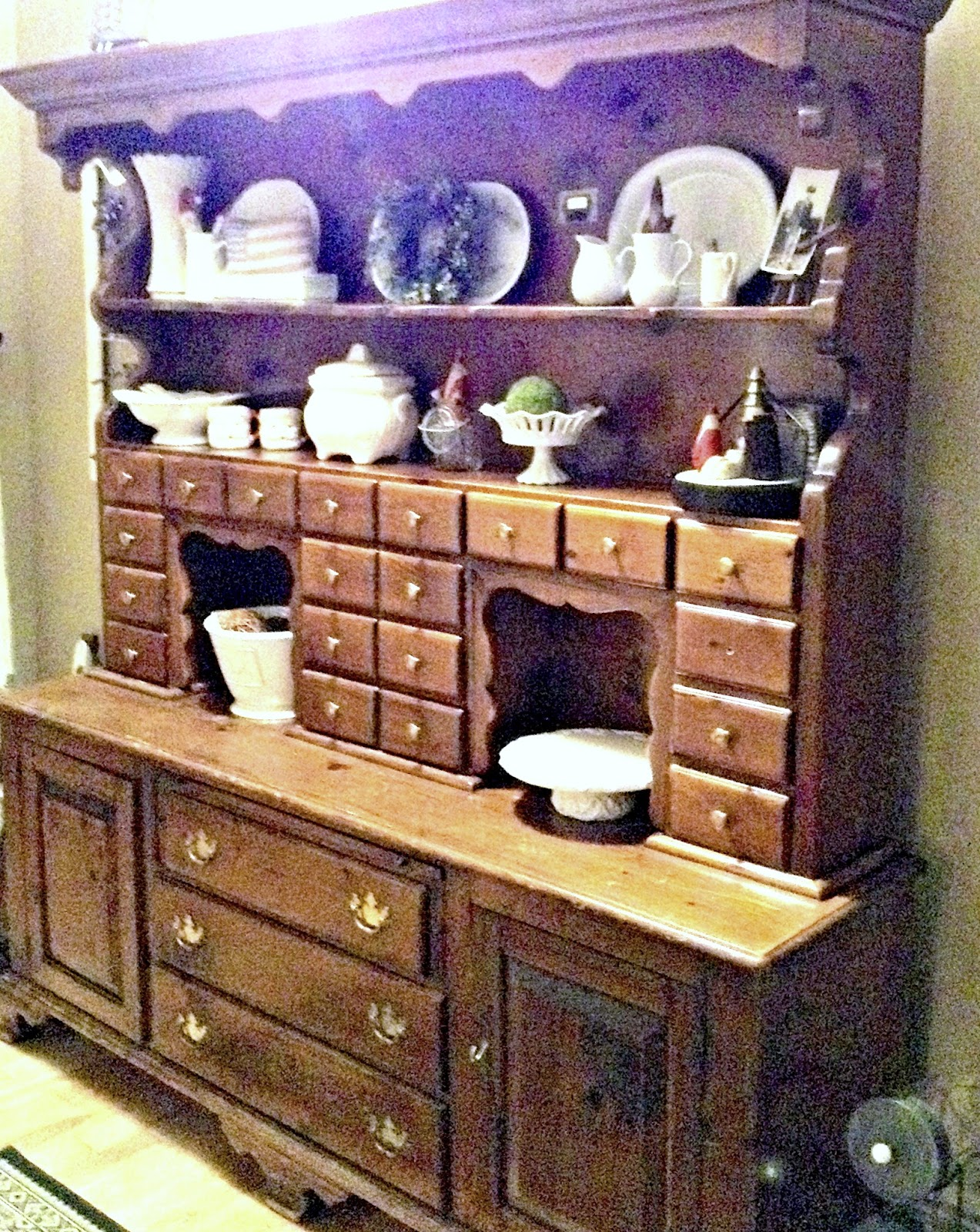 A vintage hutch and a great story www.homeroad.net