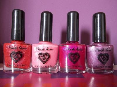 Esmaltes Pink Love Todo Moda