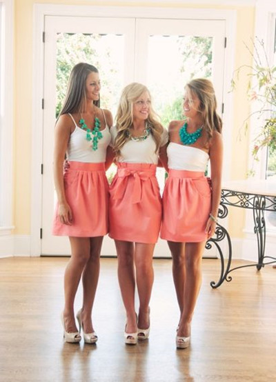 Bridesmaid Skirt Instead Of Dress